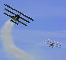 Triplane Dogfight by Colin J Williams Photography