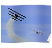 Triplane Dogfight Poster
