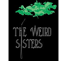 Weird Sisters Concert  Photographic Print