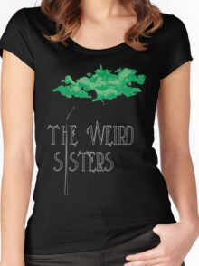 Weird Sisters Concert  Women's Fitted Scoop T-Shirt
