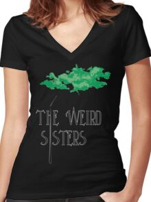 Weird Sisters Concert  Women's Fitted V-Neck T-Shirt