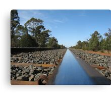 Railway Line Canvas Print