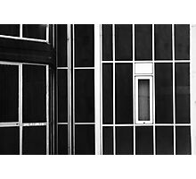 Window and lines Photographic Print