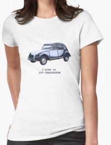 2CV Charleston Womens Fitted T-Shirt