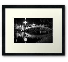 King William Street Bridge Framed Print