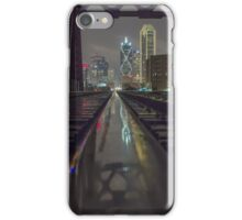 Dallas Train Tracks Reflection iPhone Case/Skin