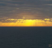 Sunrise over the Gulf of Mexico 14 by Bill Perry
