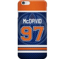 Oilers Connor McDavid - Jersey Style iPhone Case/Skin