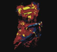 Superman t shirt, iphone skin & more by redbub88