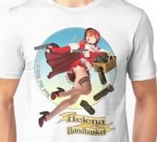 Helena Handbasket - Red Hot Riding Hood Unisex T-Shirt