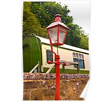 Goathland Station Light Poster
