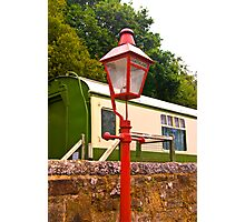 Goathland Station Light Photographic Print