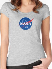 NASA EX-WNG Women's Fitted Scoop T-Shirt