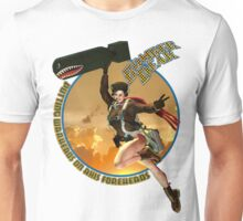 Bomber Dear - Putting Warheads on Axis Foreheads Unisex T-Shirt