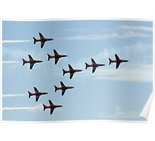 The Red Arrows - Concorde Formation Poster