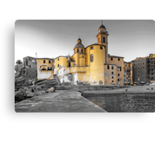 Pale Church Canvas Print