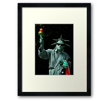 Colors Of Central Park ~ Part One Framed Print