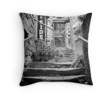 Worn by time  Throw Pillow