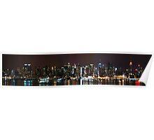 Manhattan, a Panorama Poster