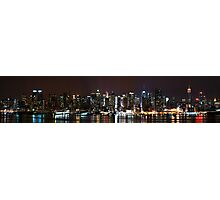 Manhattan, a Panorama Photographic Print