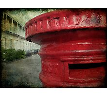 Old red post box Photographic Print