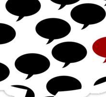 Talking Sticker