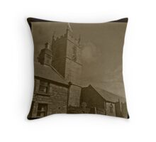 Somewhere in Cornwall Throw Pillow