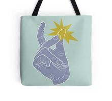 Finger Snapping Tote Bag