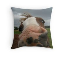 Miss Molly Throw Pillow