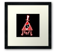 Bill is angered Framed Print