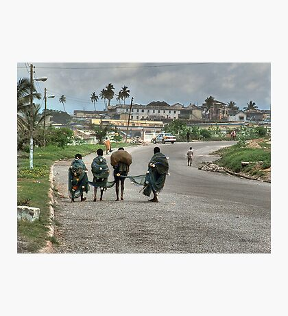 On the Road to Cape Coast Photographic Print