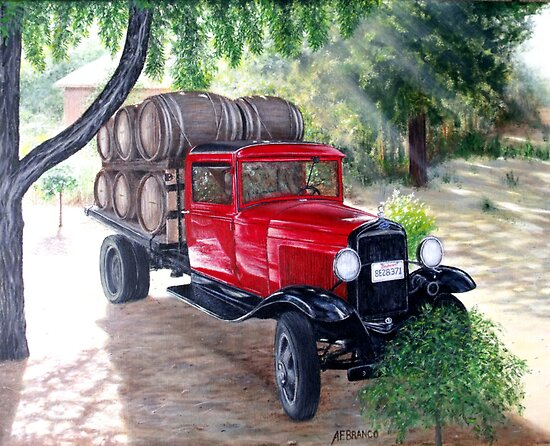 Wine Wagon by A. F. Branco