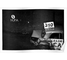 Roosecote raceway - Eno Poster