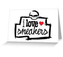 I Love Sneakers J11 Concords Greeting Card