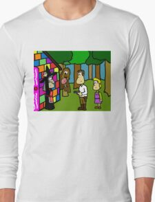 Han Solo and Gretel Long Sleeve T-Shirt