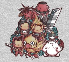 Cute Fantasy VII One Piece - Long Sleeve