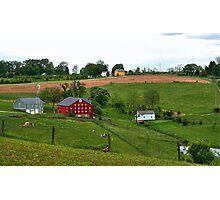 Pennsylvania farm  Photographic Print