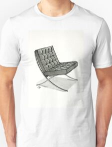 Barcelona chair - Watercolor Painting  Unisex T-Shirt