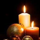 Christmas Candles by gfairbairn