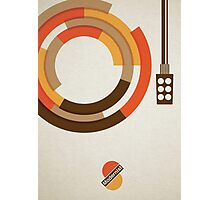 Modernist Vinyl Photographic Print