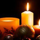 Candles and Christmas by gfairbairn