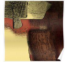 Stilleben mit Steinen Poster