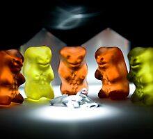Gummy Bear Photography - Hello Campers! by michalfanta