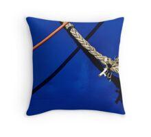 Tied up Throw Pillow