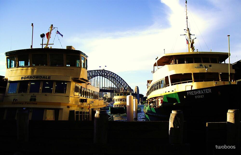 Ferries by twoboos