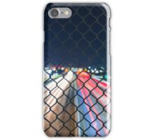 Over Pass Fence Long Exposure iPhone Case/Skin