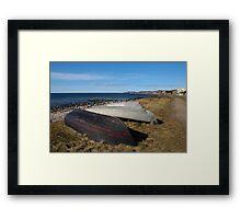 Blue Sky - Bluer Sea Framed Print
