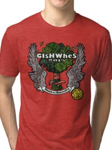 "GiShWhes ""Death to Normalcy"" Kale Shirt--MULTICOLOR (Support Random Acts Charity!) Tri-blend T-Shirt"