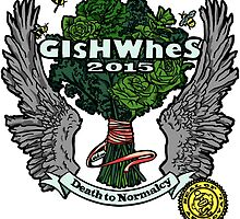 """GiShWhes """"Death to Normalcy"""" Kale Shirt--MULTICOLOR (Support Random Acts Charity!) by dcoulon"""