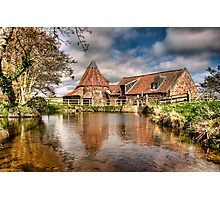 Preston mill Photographic Print